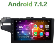 """2GB RAM 2 din Android 7.1.2 Quad core 10.1"""" GPS Navigation Car Radio Car Radio Stereo Mp3 Player For Honda Fit 2014-2016"""