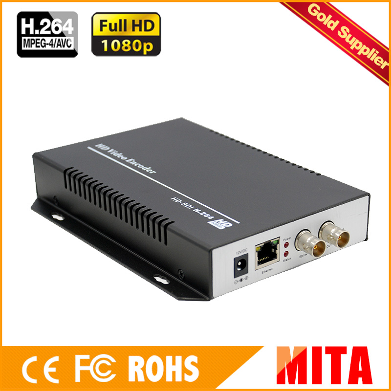MPEG 4 AVC /H.264 HD /3G SDI To IP Video Streaming Encoder RTSP RTMP Encoder For IPTV, Live Streaming Broadcast, Media Server