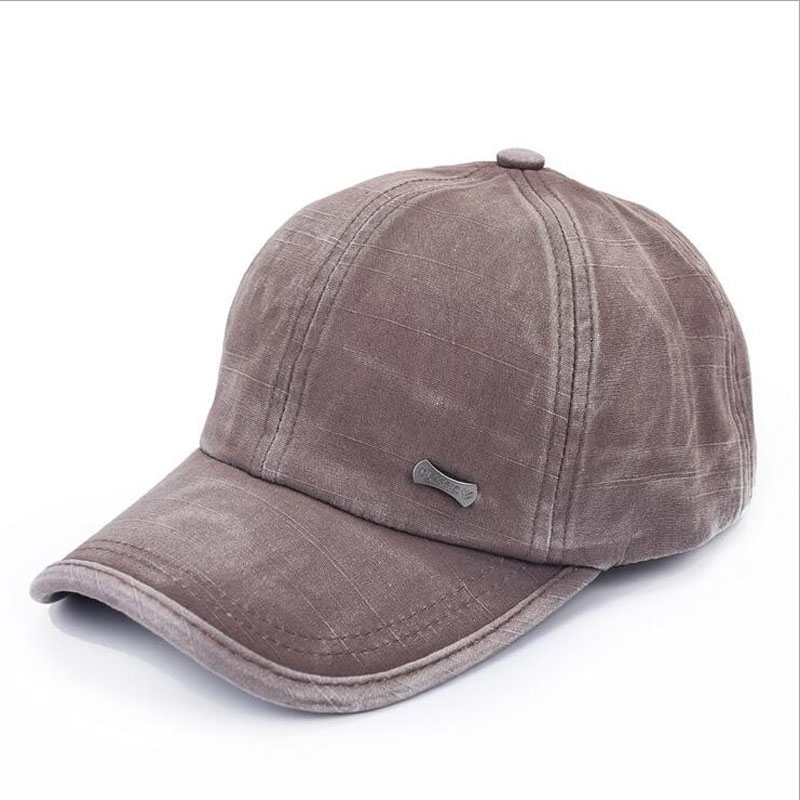 classic fashion metal label cotton men   baseball     caps   summer snapback   cap   unisex vintage sun hat man fashion women hats