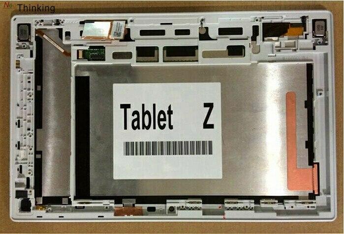 NeoThinking 10.1 Assemblée Avec Cadre Pour Sony Xperia Tablet Z SGP311 SGP312 SGP321 Lcd Digitizer Écran Tactile de Remplacement