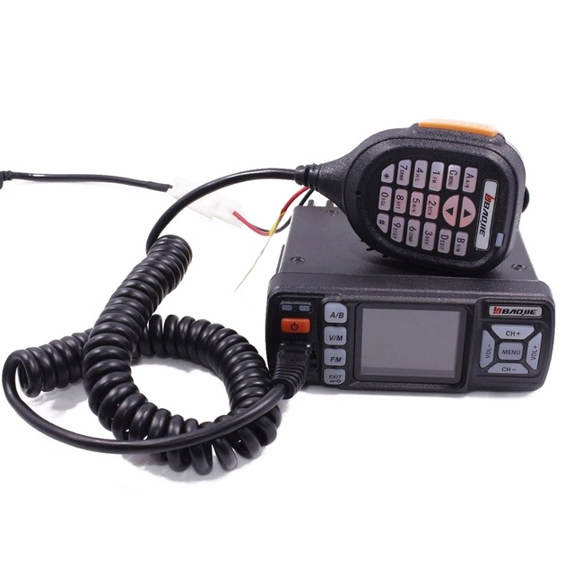 Baojie bj-318 dual band vhf uhf mobile radio 20/25w high power walkie talkie 10 km car radio 10 km upgrade of bj-218 z218