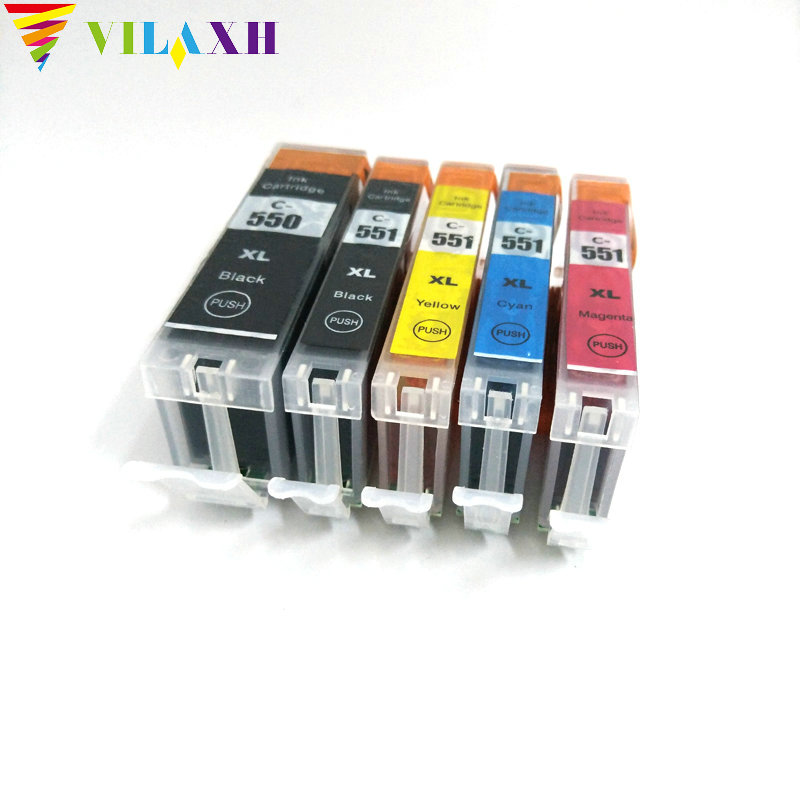 PGI-550 CLI-551 BGA 550 cli551 inktcartridge Voor Canon 550 PIXMA IP7250 MG6350 MG5450 MX925 MG7150 MG6450 MG 5550 MG7150 Printer