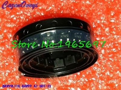 50pcs/lot BAV99LT1G BAV99 A7 SOT-23 New Original  In Stock