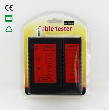 Бесплатная Доставка! Noyafa NF-468BL RJ11 RJ45 BNC коаксиальный кабель сетевой тестер для блокирующие проверку схем соединений со светодиодной подсвет...