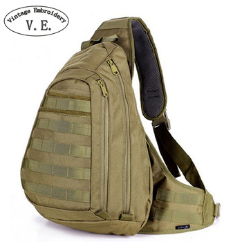Vintage Embroidery Men Bag Chest Sling Pack A4 One Single Shoulder Man Big Large Ride Travel Backpack Bag Advanced online shopping in pakistan with free home delivery