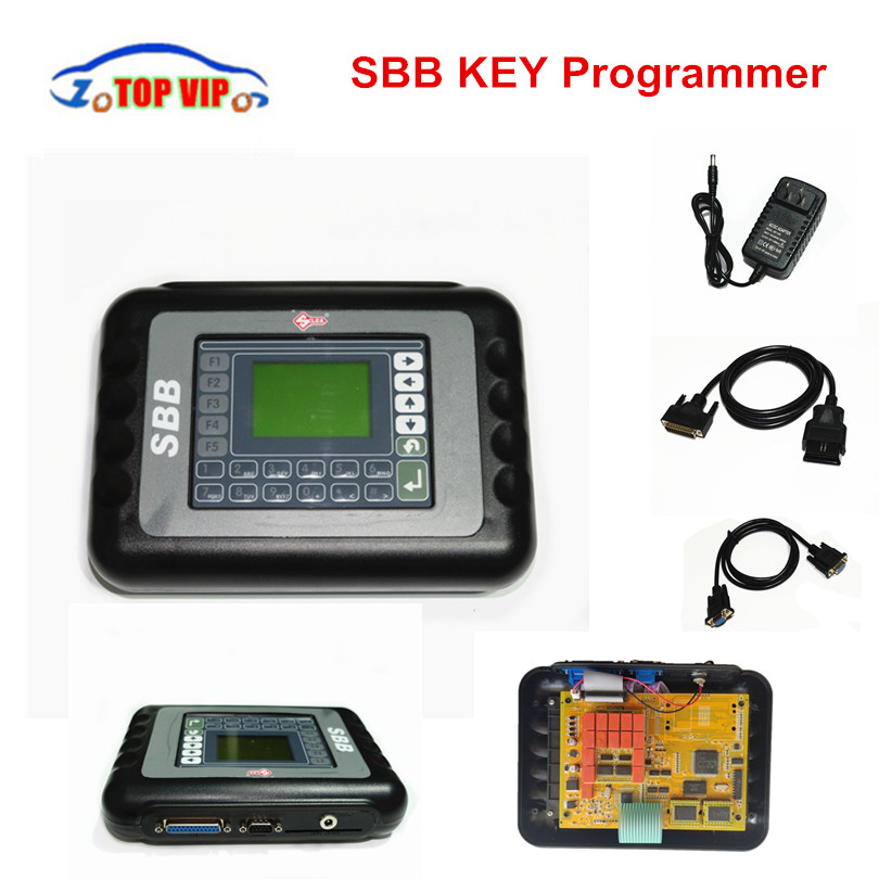 2018 Newest SBB Key Programmer SBB V33.02 Support Multi-Language Auto Silca SBB Programmer Immobilizer Transponder free shipping 2016 top rated silca sbb key programmer v33 02 professional auto key programmer autotool car diagnostic tool