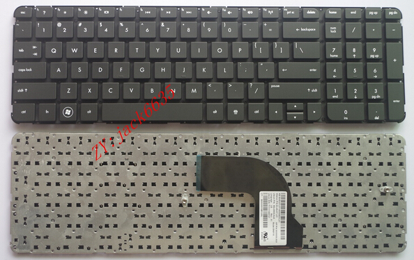 Нью-клавиатура для HP Pavilion DV7-7000 DV7-7100 dv7t-7000 dv7-7200 dv7 7001EM сша клавиатура ноутбука