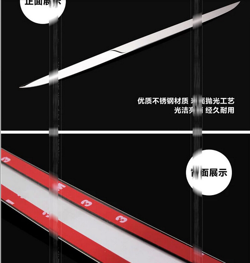 ФОТО stainless steel Rear Trunk molding Lid Cover trim trims for Mazda 6 ATENZA 2014