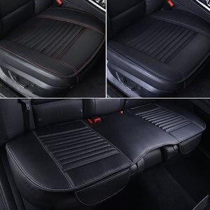 Image 5 - Capa protetora de couro para banco de carro, acessório automotivo universal para proteção de assentos em couro sintético para quatro estações