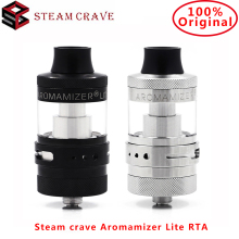 Original Steam crave Aromamizer Lite RTA 3.5/4.5ml 23mm Tank 2 AFC airhole options For Restricted DL&MTL vs Aromamizer Plus RDTA стоимость