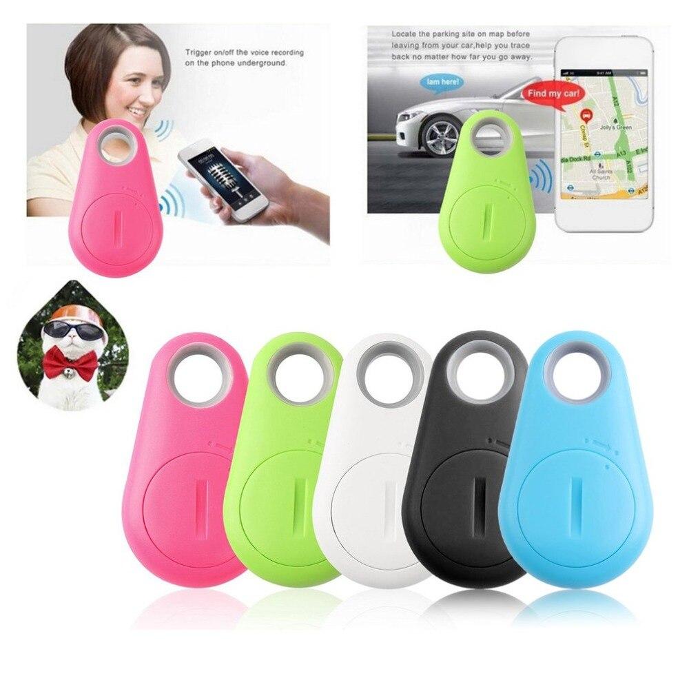 Mini Bluetooth 4.0 GPS Traker Waterdrop Locator Portable Anti-lost Key Finder Pet Tracker Two Way Alarm Anti-Theft Device