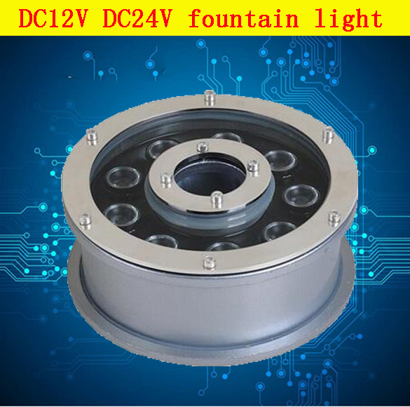 6w Led Underwater Lamp Light 9w 18w Fountain American Brand Chip Bridgelux 45mil Ip68 Dc12v Dc24v Pool