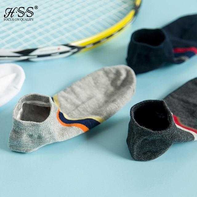 5pairs/lot Men hit color sock slippers stripe Invisible Boat Socks Short Summer Fashion Male ankle socks casual  HOT SALE Socks