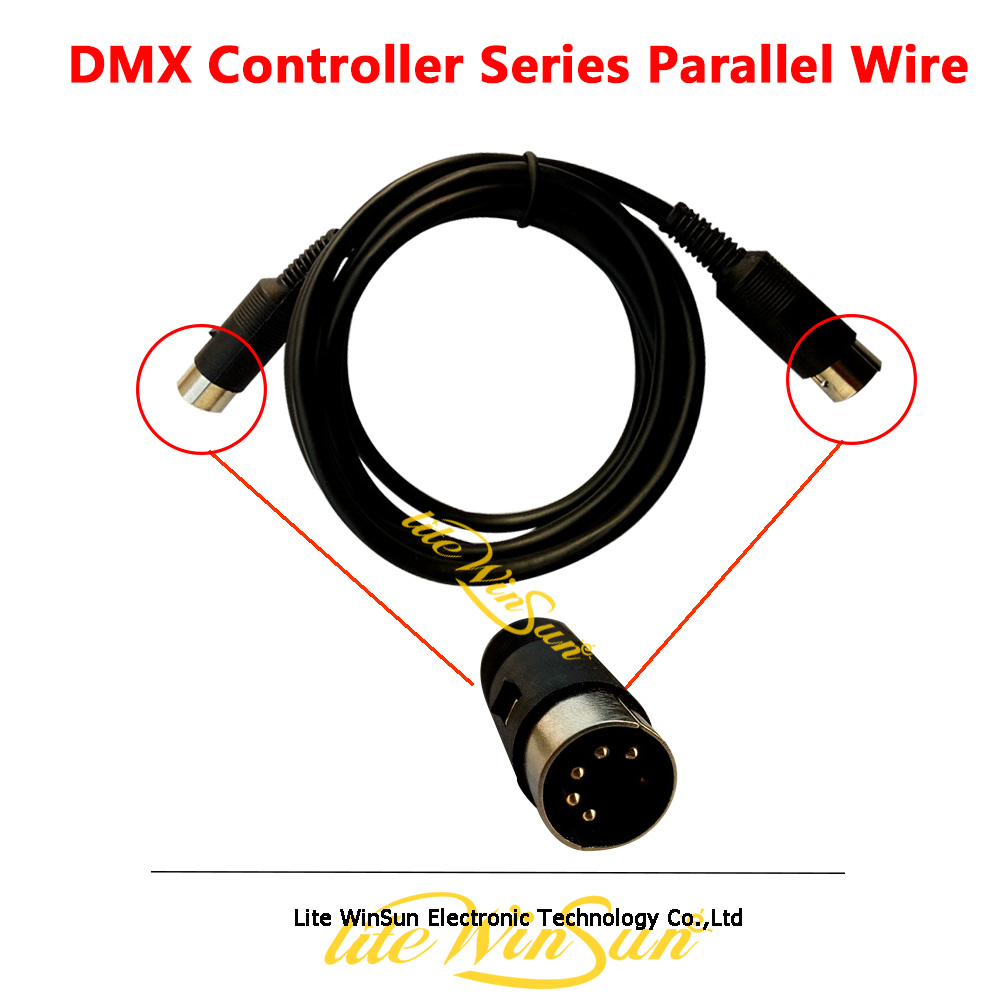 Litewinsune DMX Controller Series Parallel Connection Wire Cable Pear 2008 2010 2012 ConsoleLitewinsune DMX Controller Series Parallel Connection Wire Cable Pear 2008 2010 2012 Console