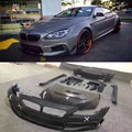 F06 F12 F13 широкий корпус комплект пластик  армированный волокном  углеродное волокно передний бампер задний бампер капот двигателя для BMW F12 F13 ...