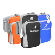 Out of doors Gymnasium Cellphone Bag Sport Baggage For Ladies Health ArmBand Cowl Nylon Excrise Jogging Operating Waterproof Baggage Case For Cellphone