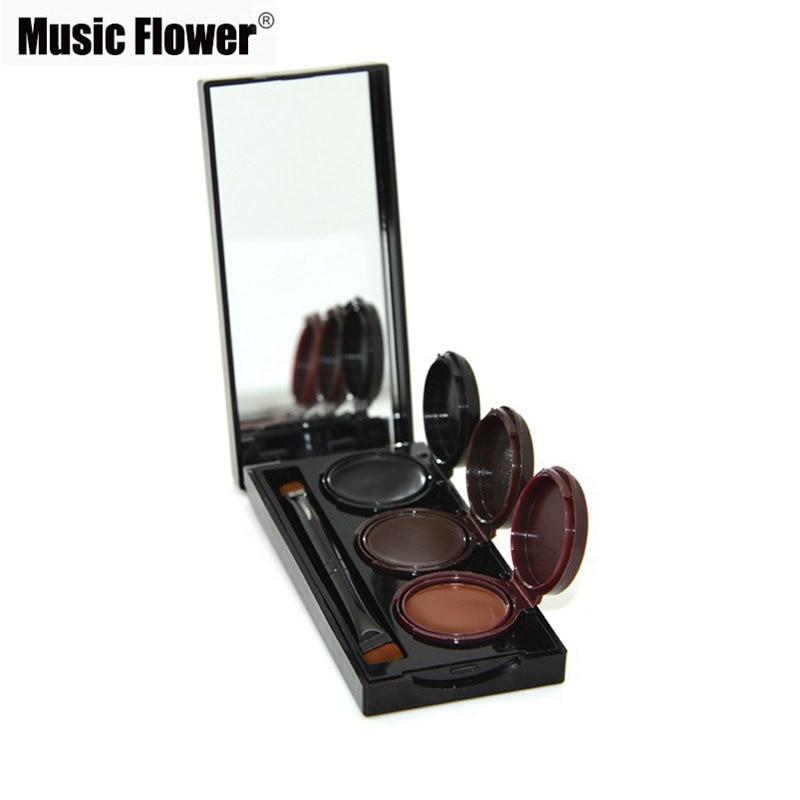 2018 Music Flower Brand Maquillaje Delineador de ojos en gel y en - Maquillaje - foto 2