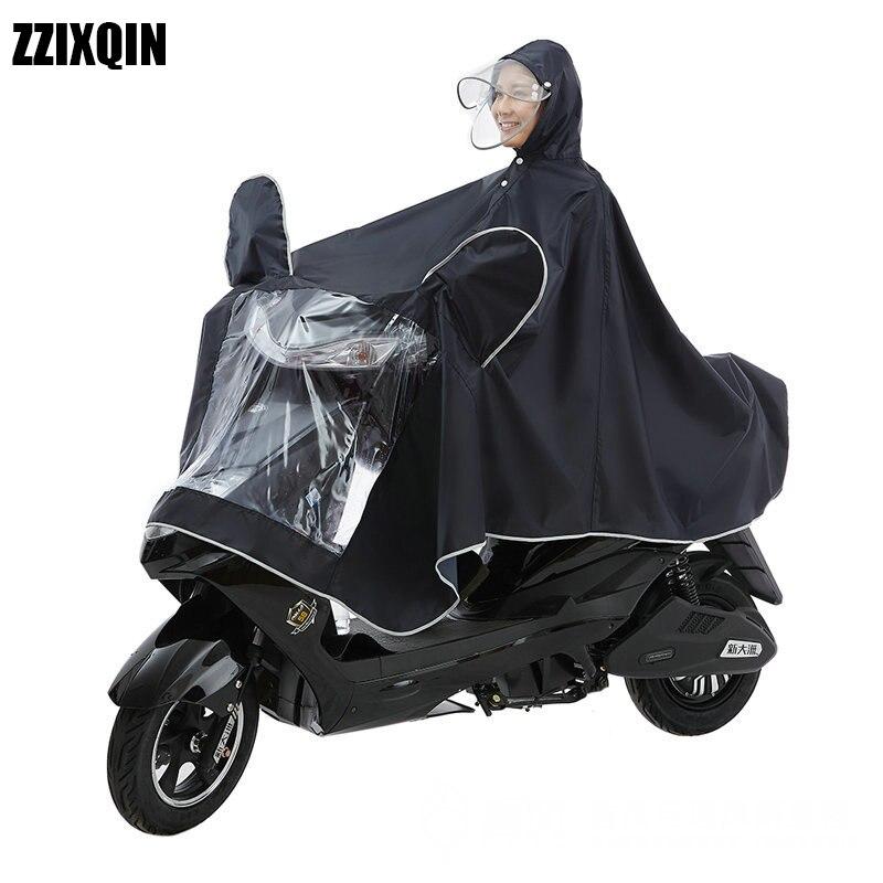 Singolo Doppio Petto Staccabile di Un pezzo Moto Impermeabile Singolo Poncho Moto Aumentato Elettrico Impermeabile