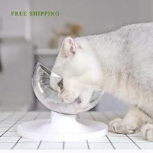 Регулируемый Pet Cat миски-кормушки Multi-Angles Cat чашка для закусок с антискользящим резиновым ножным ковриком