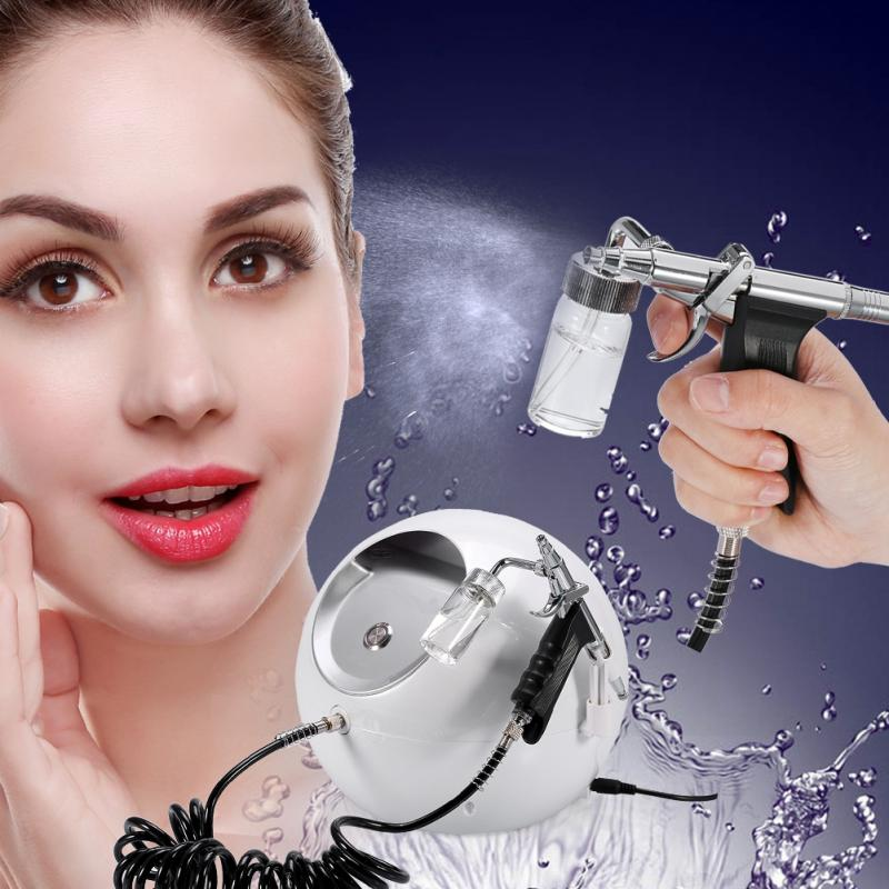 2Types Oxygen Water Skin Care Injection Spray Facial Beauty Wrinkle Remove Rejuvenation Machine for skin cleaning moisture цена