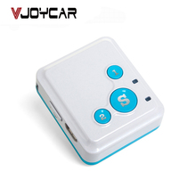 VJOYCAR V16 GSM GPRS Two Way Talk Mini GPS Tracker For Kids Children Elderly Personal Locator Lifetime Web System APP Tracking