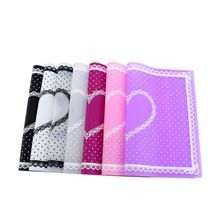 Nail Art Salon Manicure Practice Silicone Pillow Hand Holder Cushion Lace Table Washable Foldable Mat Pad 7 Color недорого