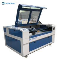 Easy operate metal laser cutter with exhaust fan, air pump and water chiller