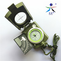 Brand Multifunction American Army Green Compass Noctilucent Display Compass Professional Quality