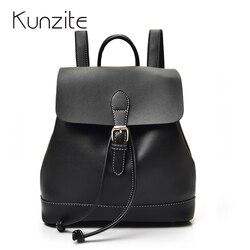 Kunzite 2017 preppy style backpack women backpacks for girls school bags travel shoulder bags pu leather.jpg 250x250
