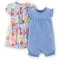 SDR2-001/002, Original, novos Artigos, bebê Girls 3-Piece Set, Casual Dress & Cuecas e Romper, frete Grátis