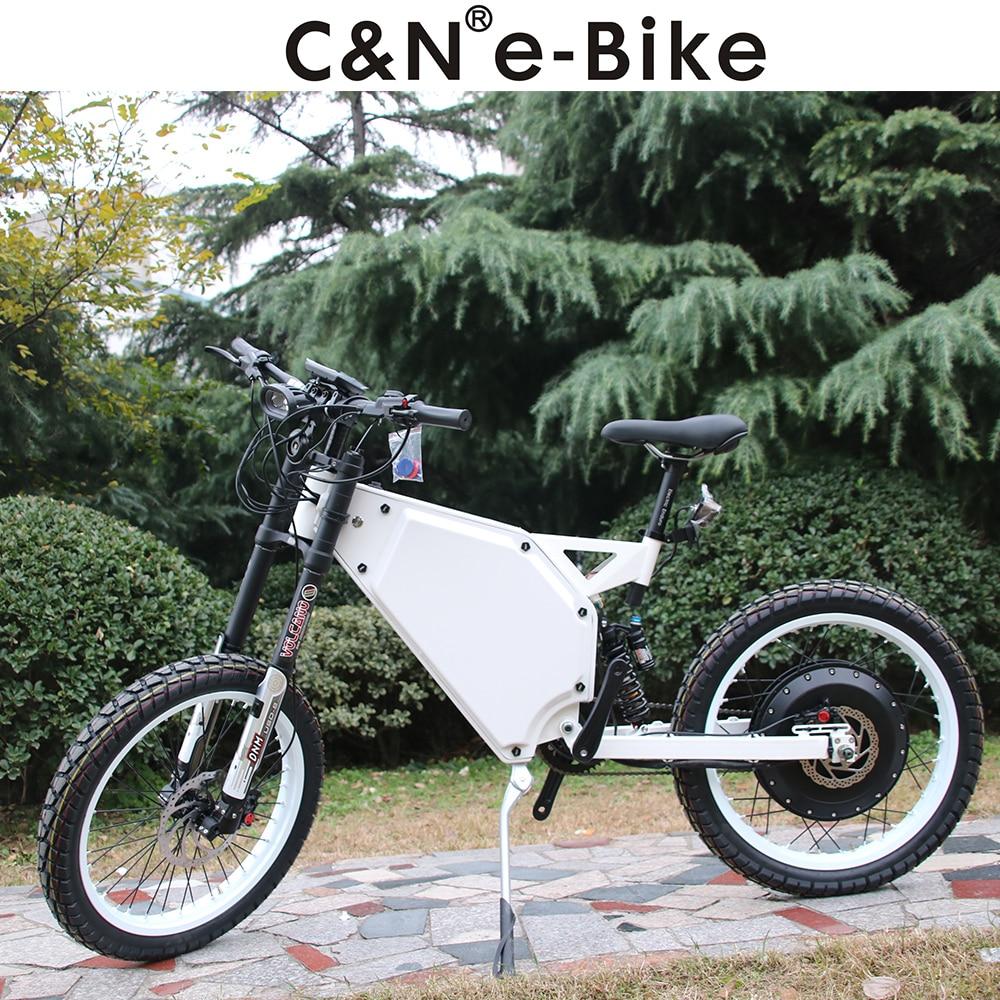 2017 Super Powerful 72v 8000w Enduro Ebike Electric Motorcycle Bike Electric Mountain Bike