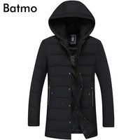 Batmo 2017 New Arrival Winter High Quality 80 Grey Duck Down Warm Men S Hooded Jackets