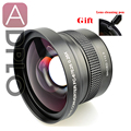 Pixco 67mm 0.25X Super Fisheye Wide Angle Lens Suit For Canon Nikon Sony Pentax Camera Lens with cleaning Pen