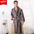 Terry cotton soft  Men's Big & Tall Terry Kimono Robe