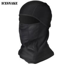 ICESNAKE Motorcycle Winter Fleece Warm Full Face Cycling Mask Anti-dust Windproof Ski Headgear Sport Bicycle Bike Headwear недорого
