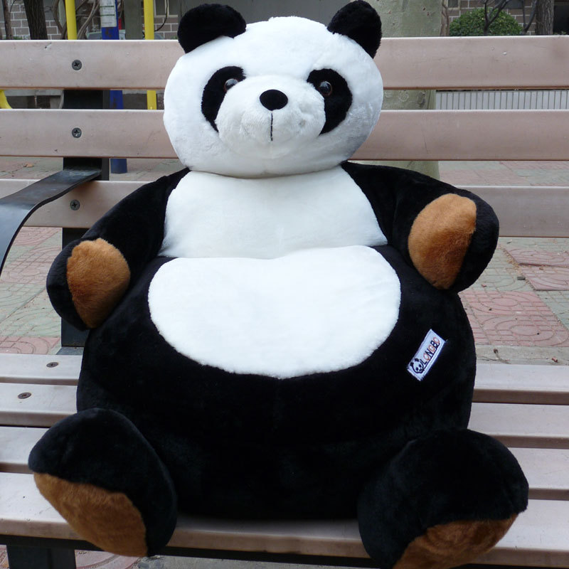panda bean bag chair exercise ball as desk size hot baby child giant doll toy plush cartoon beanbag unique gift in stuffed animals from toys hobbies on aliexpress com alibaba group