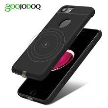 Qi Draadloze Oplader Ontvanger Case Voor Iphone 7 6 6 S Mobiele Telefoon Case Wireless Charging Pad Dock Cover Voor iphone 7 Plus 6 6 S 8