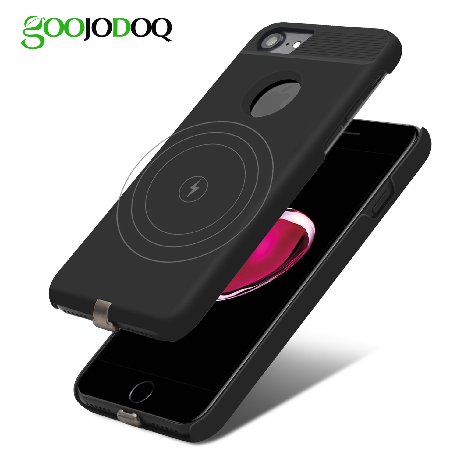 huge discount 9ed37 4a78c Qi Wireless Charger Receiver Case For iPhone 7 6 6s Mobile Phone Case  Wireless Charging Pad Dock Cover For iPhone 7 Plus 6 6s 8