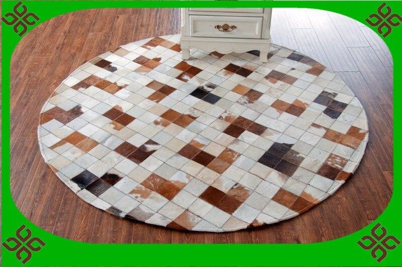 ᗑEntrega libre 100% natural de cuero de vaca alfombra de vinilo ...