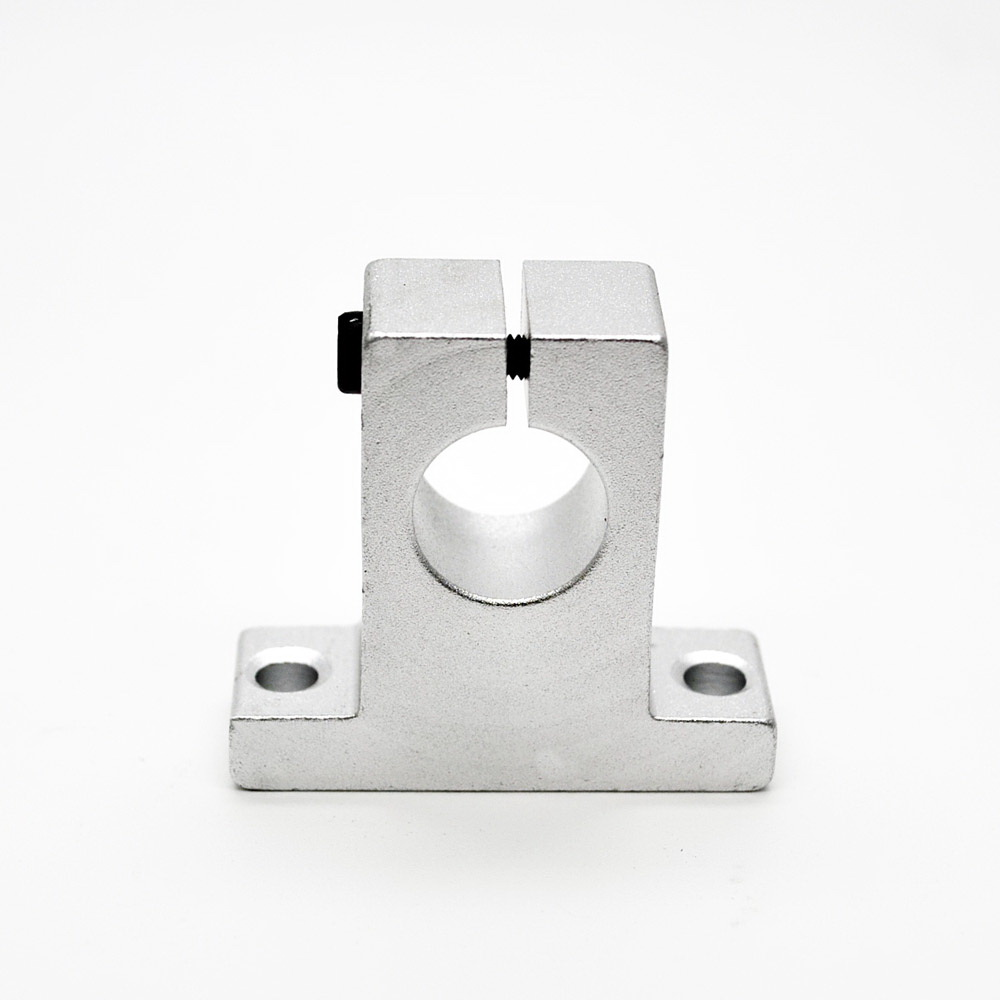 1 Sets SK8//10//12//16 Linear Rail Bearing Shaft Guide Support Bracket Clamp Alloy