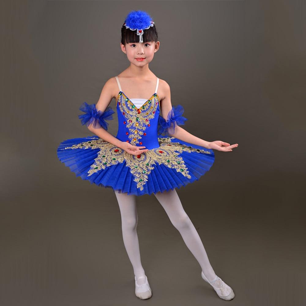 d71aa7fc222a 2018 New Kid Professional Swan Lake Ballet Tutu Costume for Children  Ballerina Dress Kids Ballet Dress girl Dancewear tutu skirt-in Ballet from  Novelty ...