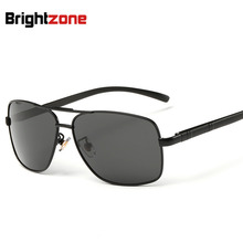 Polarized Light Mirror Aluminum Magnesium Legs Block Sunglasses Man Sun Glasses Classic New Sunglasses oculos de sol gafas