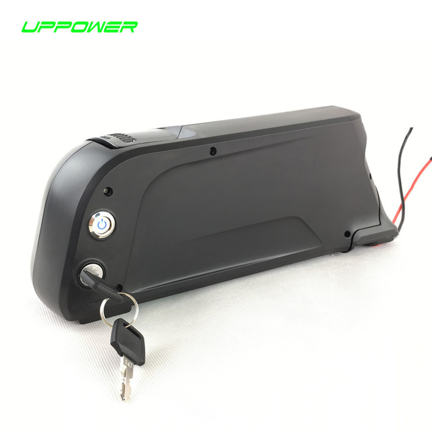 EU US Free Tax 8fun / Bafang motor use 48V 11.6Ah NCR18650PF cell Electric Bike Dolphin Lithium Battery with 54.6V 2A charger 30a 3s polymer lithium battery cell charger protection board pcb 18650 li ion lithium battery charging module 12 8 16v