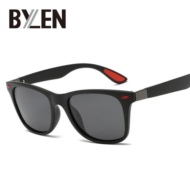 7830741d90 2019 Classic Square Polarized Sunglasses Men Women Brand Designer Vintage  Driving Sun Glasses Rivet Mirror Male Shades UV400