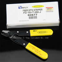 Miller clamp USA original three holes straight shank optical fiber Stripper FO103 T 250 J fiber optic strippers