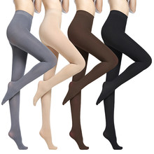 d097453c5 Meias 120D 1 pc das Mulheres Outono e Inverno Calças Quentes Meia-calça  Transparente Sexy