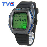 2014 New Items TV DVD Remote Control Watch Multifunction Touch Screen Panel Led Digital Watch With