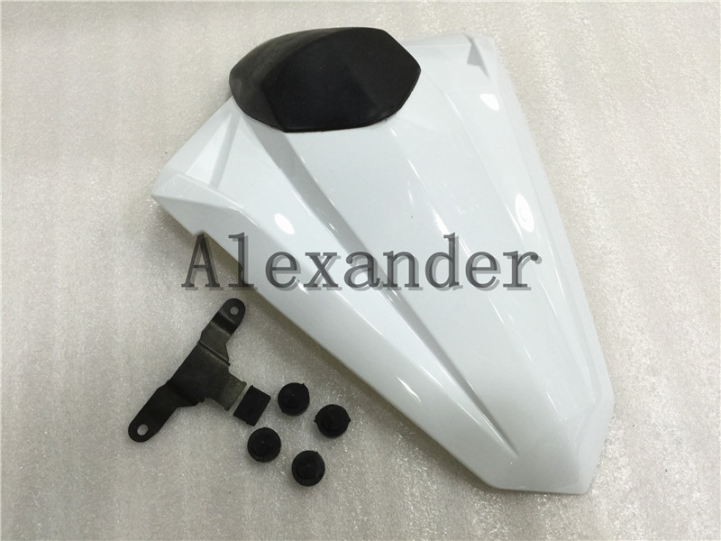 White Rear Seat Cover Cowl Solo Motor Seat Cowl Rear For Kawasaki Ninja 300 250 Z250 EX300 2013 2014 2015 2016 2017 2018 EX Z