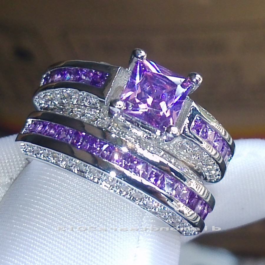 compare prices on white gold filled wedding rings set- online