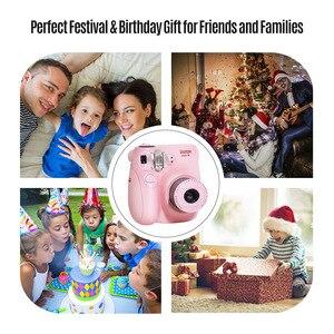 Image 5 - Fujifilm Instax Mini Film caméra Mini7c Mini 7C appareil photo instantané moins cher que Instax mini8 mini9 anniversaire noël nouvel an cadeau